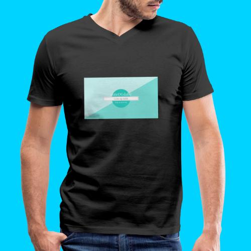 cuteOGdalle - Økologisk Stanley & Stella T-shirt med V-udskæring til herrer