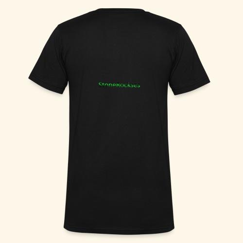 StoneRockses - Økologisk T-skjorte med V-hals for menn fra Stanley & Stella