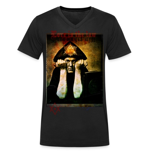 Crowley - Men's Organic V-Neck T-Shirt by Stanley & Stella
