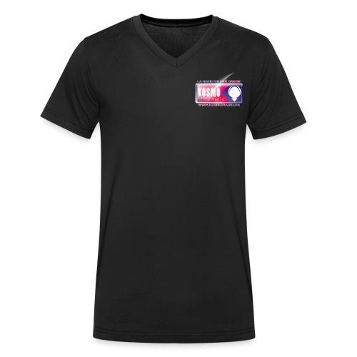 Kosmo radio 900x300 png - T-shirt bio col V Stanley & Stella Homme