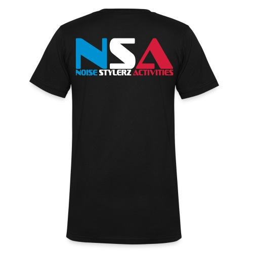 NOISE STYLERZ ACTIVITIES - T-shirt bio col V Stanley & Stella Homme