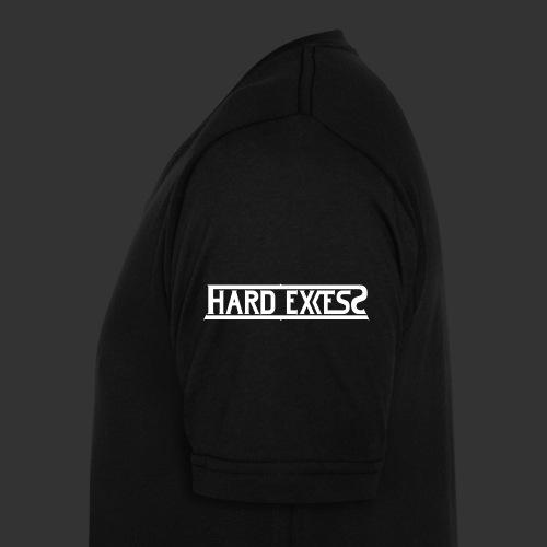 HARD EXCESS Logo weiß - Männer Bio-T-Shirt mit V-Ausschnitt von Stanley & Stella