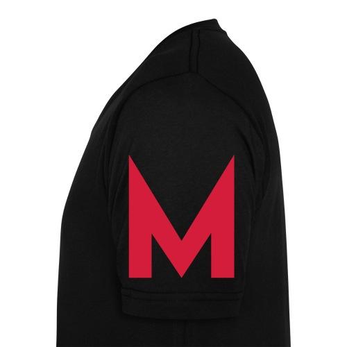 Mentic-M - Männer Bio-T-Shirt mit V-Ausschnitt von Stanley & Stella