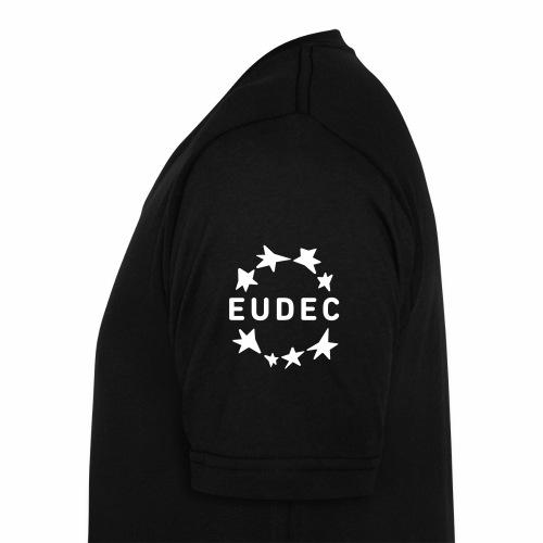 eudec logo stars - Men's Organic V-Neck T-Shirt by Stanley & Stella