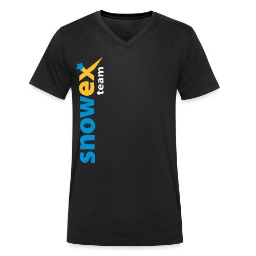 snowexteam blue - Männer Bio-T-Shirt mit V-Ausschnitt von Stanley & Stella