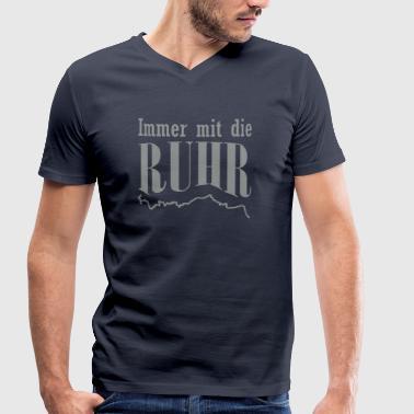 Immer mit die Ruhr - Männer Bio-T-Shirt mit V-Ausschnitt von Stanley & Stella