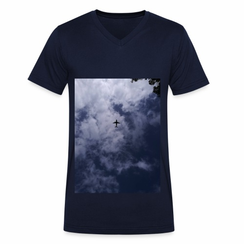 Fly High Photography - Men's Organic V-Neck T-Shirt by Stanley & Stella