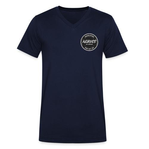 MERVES LOGO SHIRT - Männer Bio-T-Shirt mit V-Ausschnitt von Stanley & Stella