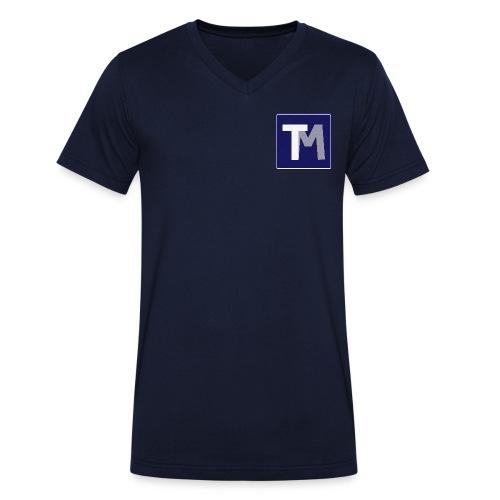 TM - Mannen bio T-shirt met V-hals van Stanley & Stella