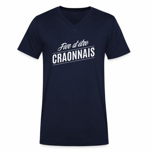 Fier d'être Craonnais - T-shirt bio col V Stanley & Stella Homme