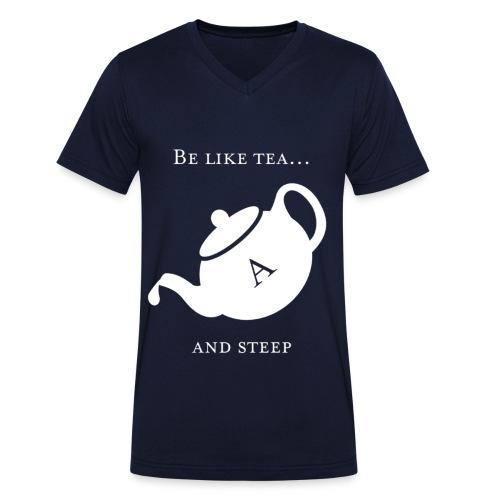 hmmn - Men's Organic V-Neck T-Shirt by Stanley & Stella