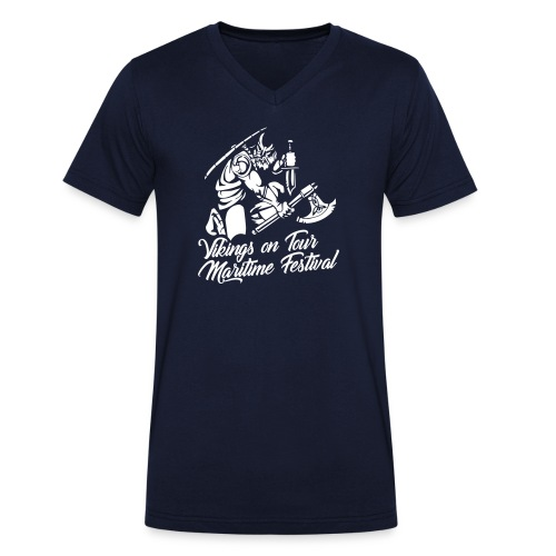 Viking Maritime - Men's Organic V-Neck T-Shirt by Stanley & Stella