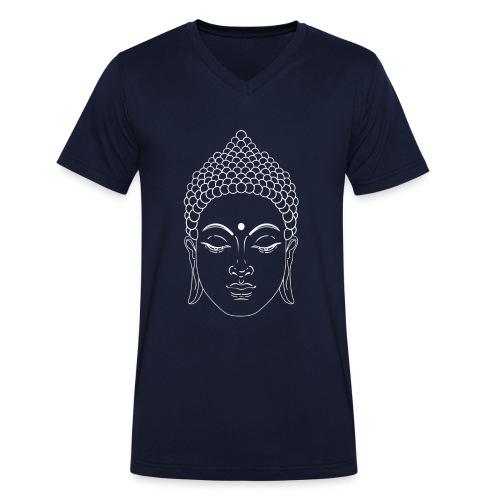 Gautama Buddha - Men's Organic V-Neck T-Shirt by Stanley & Stella