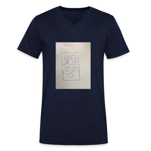 embo - Mannen bio T-shirt met V-hals van Stanley & Stella