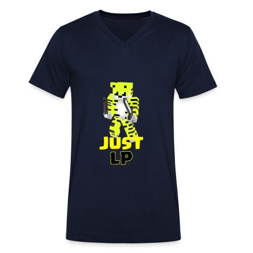 JustLP - Männer Bio-T-Shirt mit V-Ausschnitt von Stanley & Stella