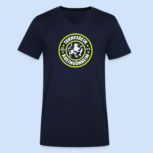 New Generation - Vereinslogo - Männer Bio-T-Shirt mit V-Ausschnitt von Stanley & Stella