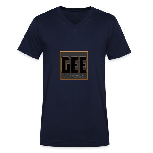 LOGOTSHIRT - Økologisk Stanley & Stella T-shirt med V-udskæring til herrer