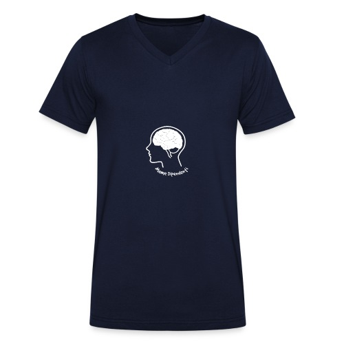 Memedipendenti T-Shirt - T-shirt ecologica da uomo con scollo a V di Stanley & Stella