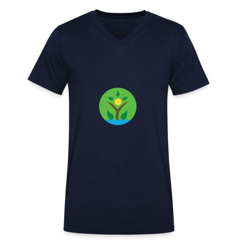 Uplifting My Life Official Merchandise - Men's Organic V-Neck T-Shirt by Stanley & Stella