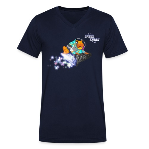 SpaceKaeru - Crapal - T-shirt bio col V Stanley & Stella Homme