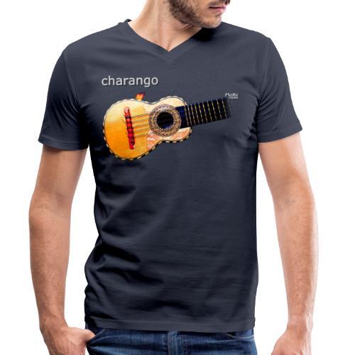 Charango - Camiseta ecológica hombre con cuello de pico de Stanley & Stella