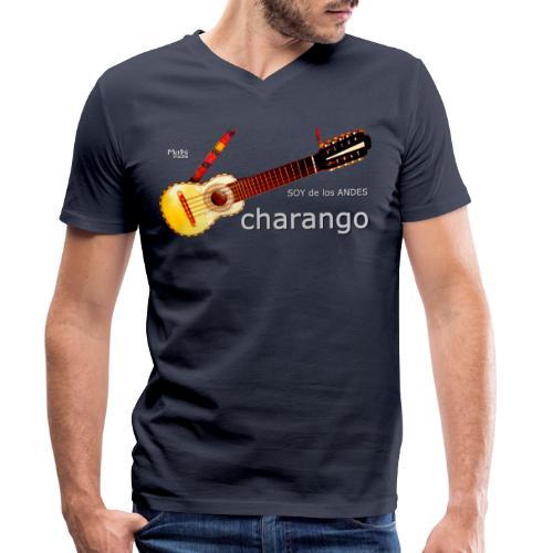 De los ANDES - Charango II - Camiseta ecológica hombre con cuello de pico de Stanley & Stella