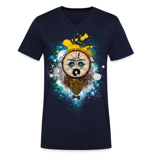 Remember the futur Souviens toi du futur - T-shirt bio col V Stanley & Stella Homme