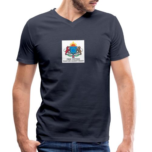 Logo PNG - Männer Bio-T-Shirt mit V-Ausschnitt von Stanley & Stella