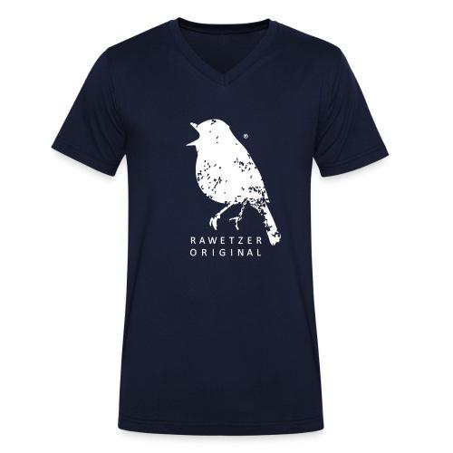 zwitscher-rawetzer-origin - Männer Bio-T-Shirt mit V-Ausschnitt von Stanley & Stella