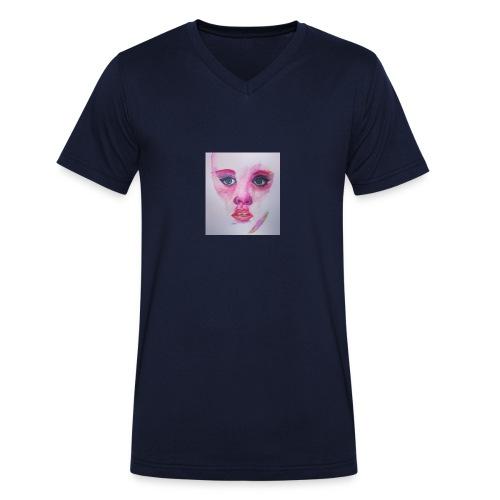 3-jpeg - Camiseta ecológica hombre con cuello de pico de Stanley & Stella