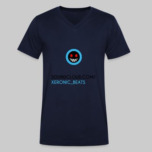 XERONIC LOGO - Men's Organic V-Neck T-Shirt by Stanley & Stella