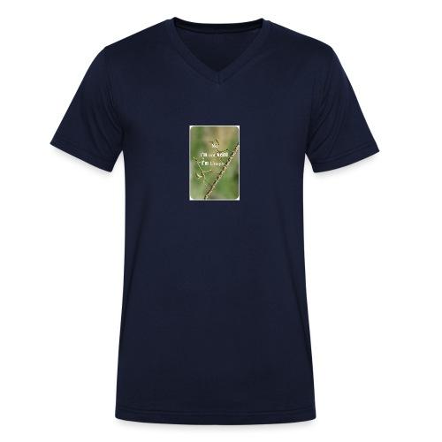 No I'am not weird i'am unique ! - T-shirt bio col V Stanley & Stella Homme