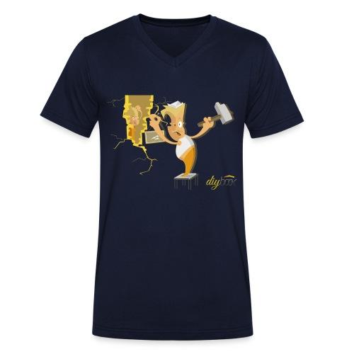 Knock Knock - Männer Bio-T-Shirt mit V-Ausschnitt von Stanley & Stella