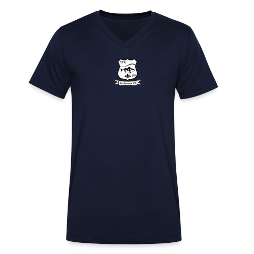 STORDAMMENLOGO 2013 png - Økologisk T-skjorte med V-hals for menn fra Stanley & Stella