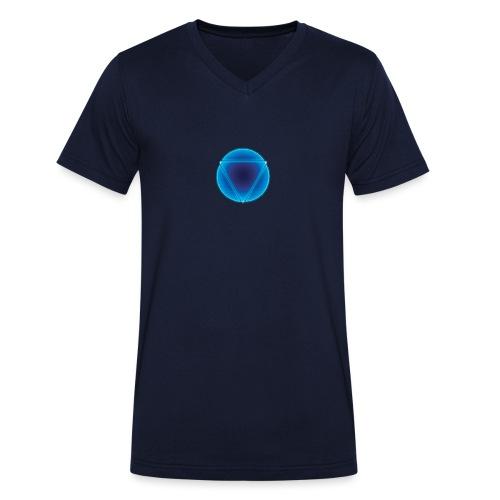 REACTOR CORE - Camiseta ecológica hombre con cuello de pico de Stanley & Stella