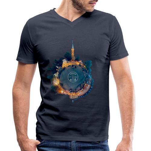 Little Forschd - Männer Bio-T-Shirt mit V-Ausschnitt von Stanley & Stella