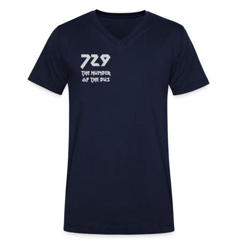729 grande grigio - T-shirt ecologica da uomo con scollo a V di Stanley & Stella