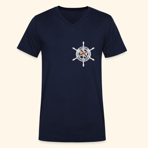 ROS 338 Besatzungs-T-Shirts - Männer Bio-T-Shirt mit V-Ausschnitt von Stanley & Stella