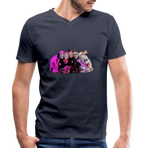 SERGI DANI ENDO DARIAN - Camiseta ecológica hombre con cuello de pico de Stanley & Stella