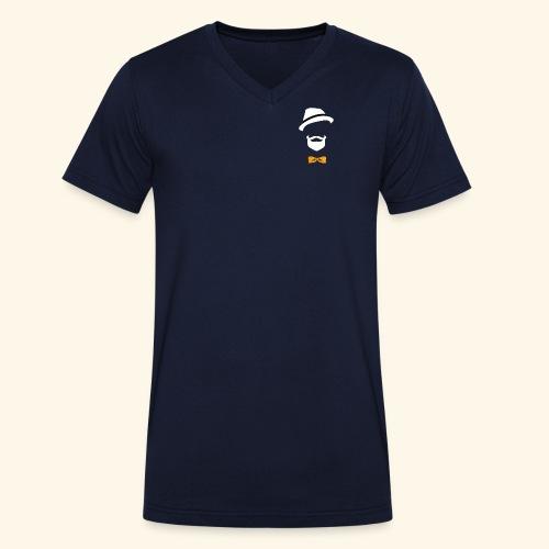 Riffect - Ekologisk T-shirt med V-ringning herr från Stanley & Stella