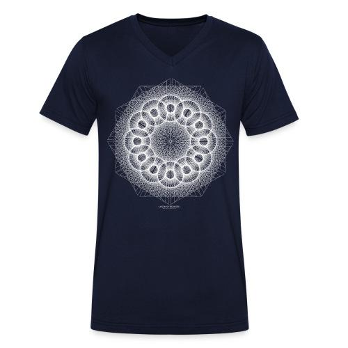 MOTW5WHITE - T-shirt bio col V Stanley & Stella Homme