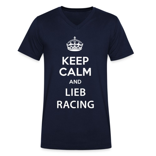 Keep Calm and Lieb Racing - T-shirt bio col V Stanley & Stella Homme