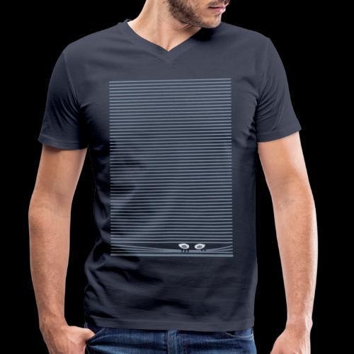 icu - Männer Bio-T-Shirt mit V-Ausschnitt von Stanley & Stella