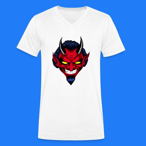 DEMON HEAD by Agill - T-shirt bio col V Stanley & Stella Homme