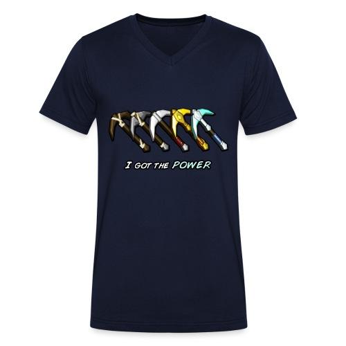 I got the POWER - Men's Organic V-Neck T-Shirt by Stanley & Stella