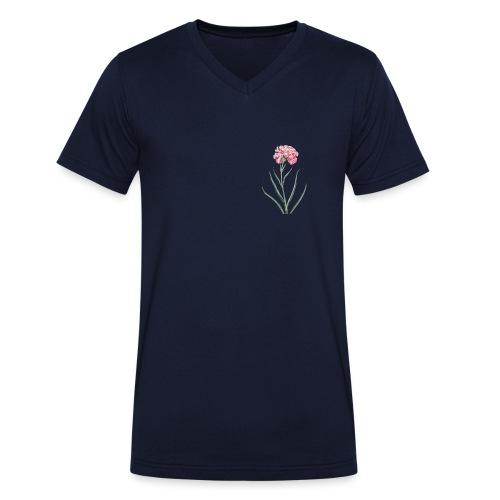 littel flower - Ekologisk T-shirt med V-ringning herr från Stanley & Stella