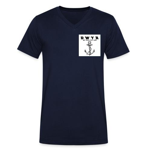 Anker - Männer Bio-T-Shirt mit V-Ausschnitt von Stanley & Stella