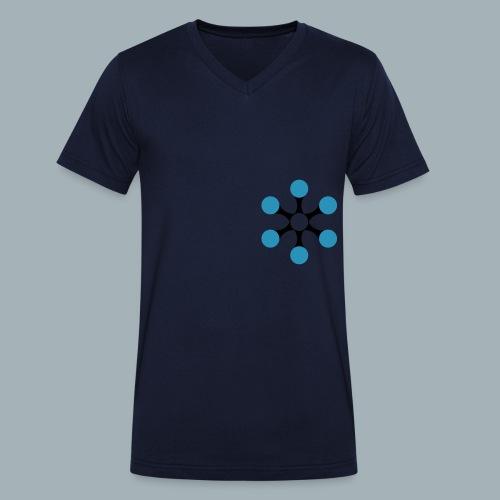 Star Bio T-shirt - Mannen bio T-shirt met V-hals van Stanley & Stella