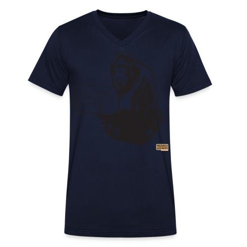 Glenn Doherty - Mannen bio T-shirt met V-hals van Stanley & Stella