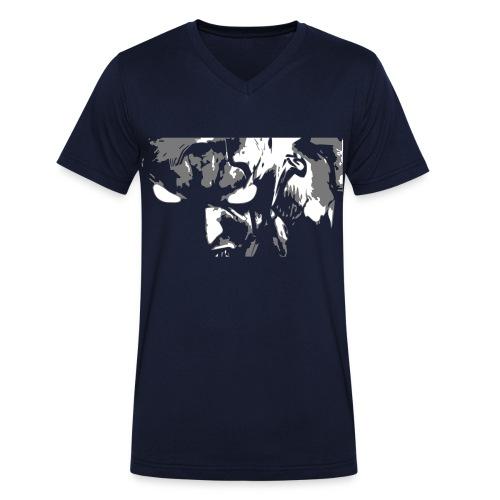 Paar - Männer Bio-T-Shirt mit V-Ausschnitt von Stanley & Stella